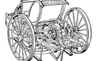 Первый автомобиль на бензине