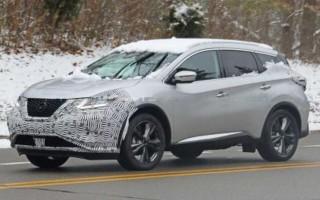 Обновленный Nissan Muranoпоявился в сети