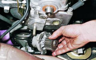 Как отремонтировать и произвести замену помпы на ВАЗ 2110-2112?