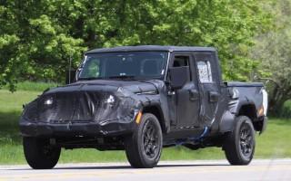 Новый Jeep Wrangler пикап