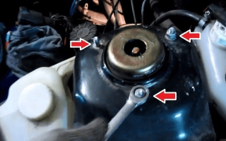 Как поменять задние стойки на ваз 2109