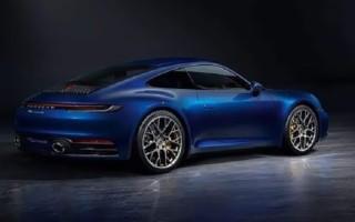Новый Porsche 911Carrera 4S  – официальные фотографии