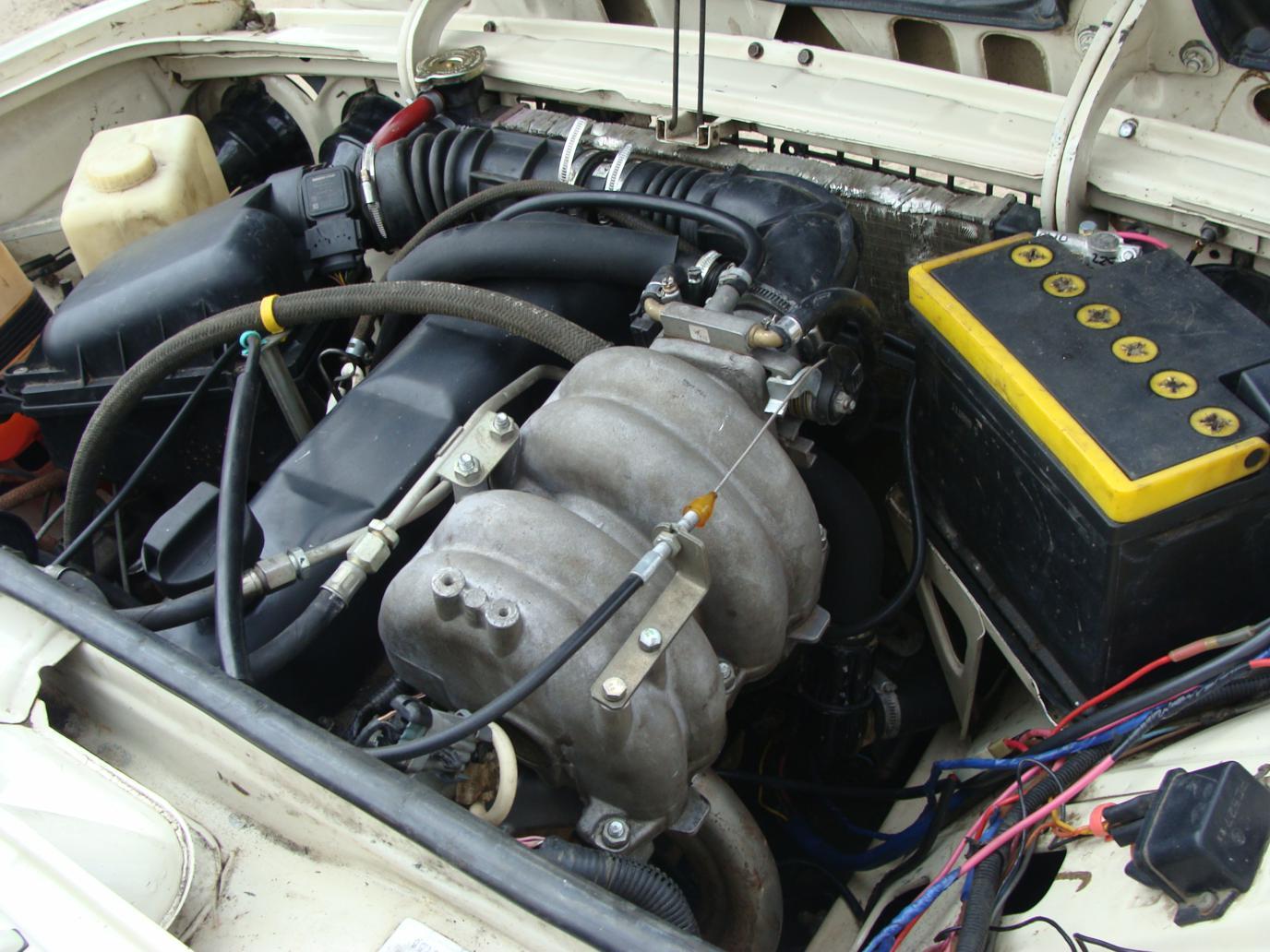 Инжекторный двигатель ВАЗ 2104