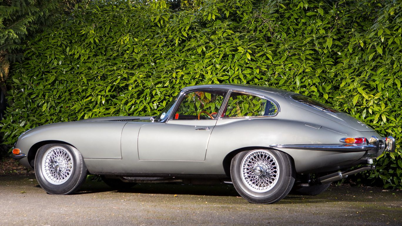 Jaguar-e-type fixed head coupe