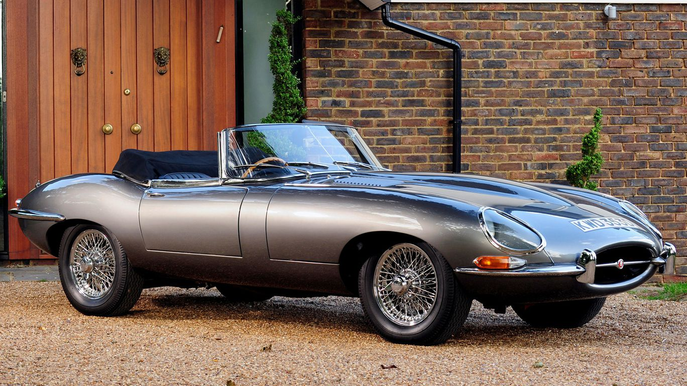 Jaguar-e-type open two seater