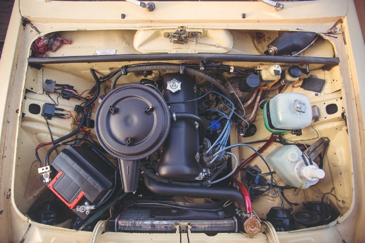 Карбюраторный двигатель ВАЗ 2104