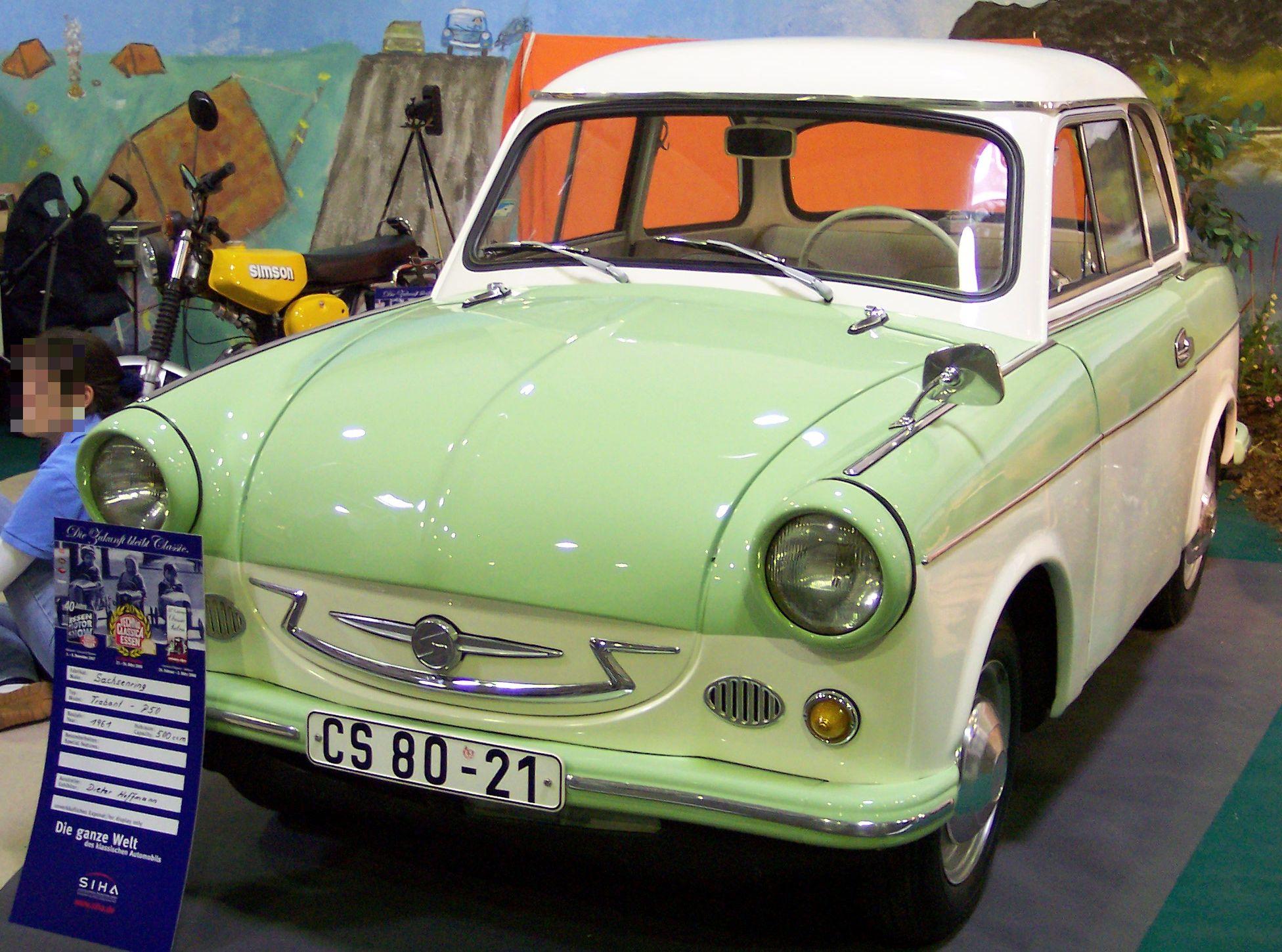Модель Trabant P50