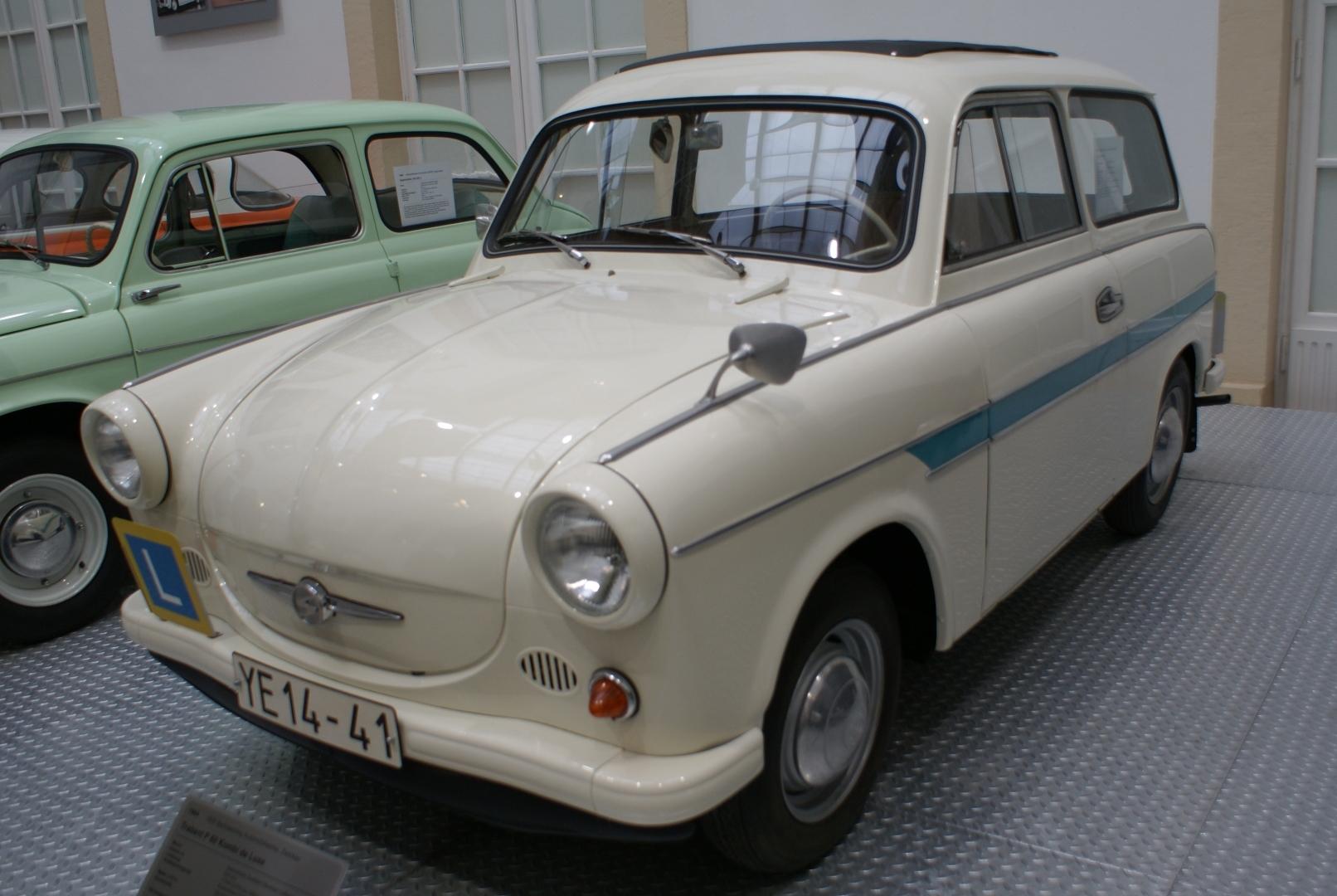 Модель Trabant P60