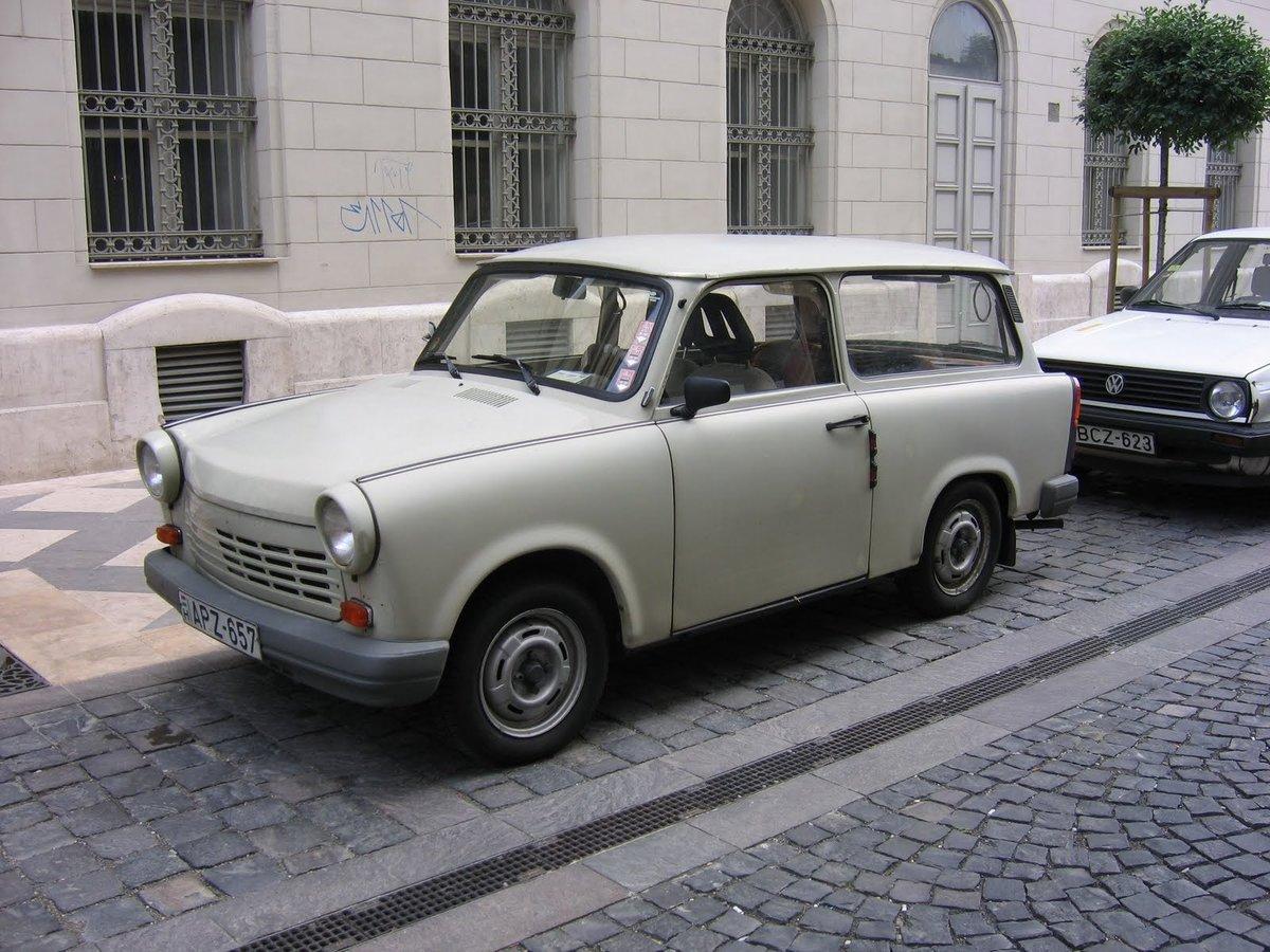 Модель Trabant P601