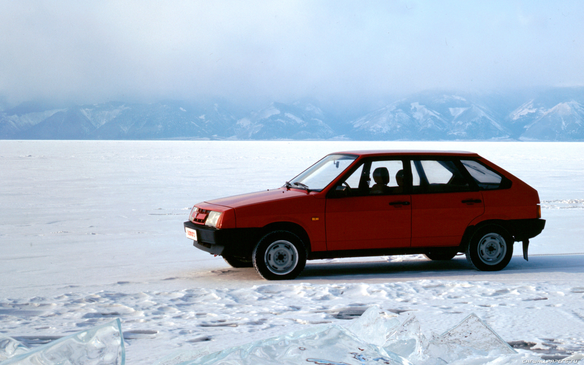 ВАЗ 2109 зимой