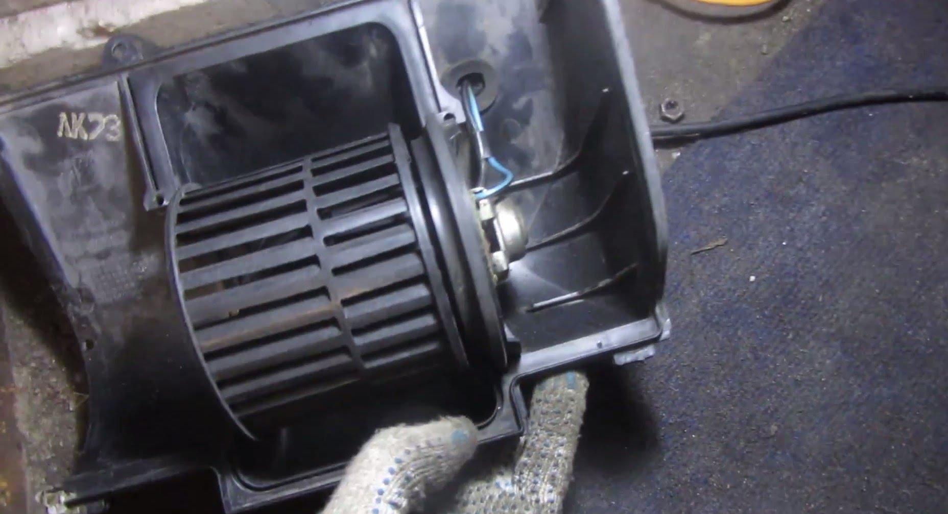 Вентилятор печки ВАЗ 2110
