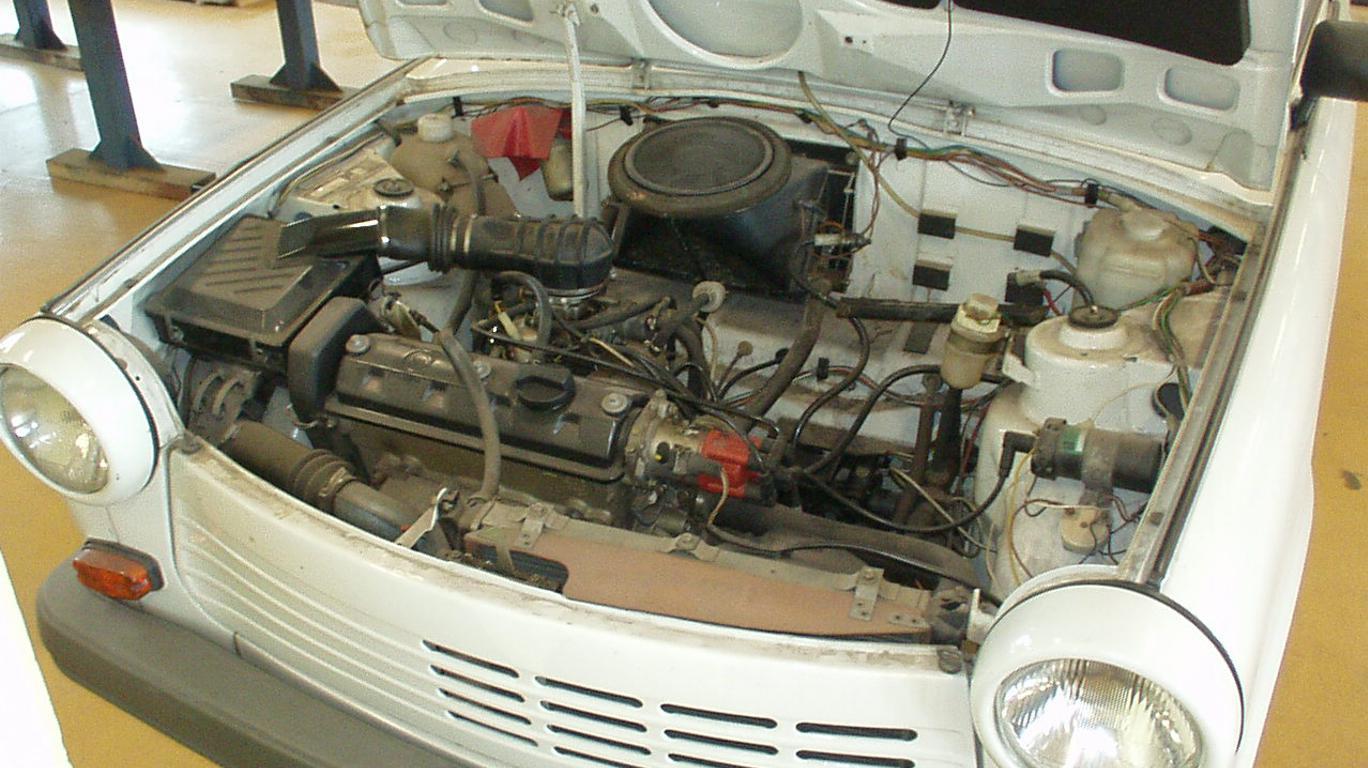 Двигатель автомобиля Трабант