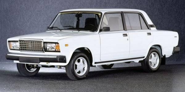 Седьмая модель АвтоВаза