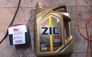 Масло моторное zic x9 5w40 отзывы