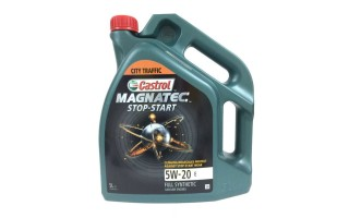 Моторное масло castrol magnatec stop start 5w20