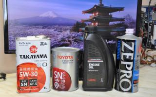 Японские моторные масла, лучшие из лучших