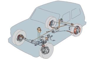 Схема тормозной системы ваз 2121 нива