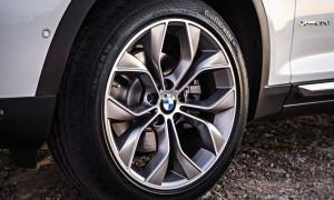 BMW x3 давление в шинах f25, таблица