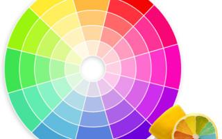 Таблица цветов ВАЗ, коды, наименования, описание