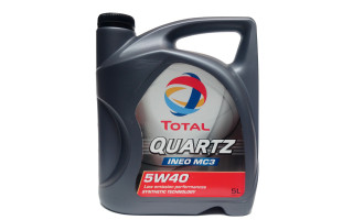 Масло моторное total quartz ineo mc3 5w40