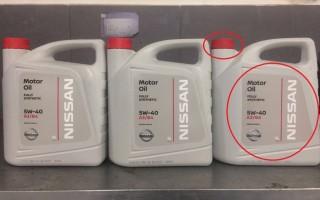 Подделка моторного масла ниссан, как отличить контрафакт
