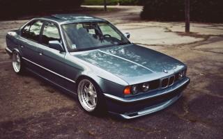 BMW 520 e34 как заменить передние рычаги, видео по ремонту
