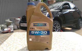 Масло моторное ravenol fo 5w 30. Характеристики