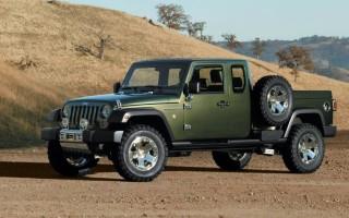 Jeep Gladiator в России ожидается в 2020 году