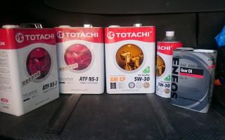 Моторное масло тотачи 10w40