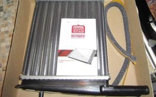 Как заменить радиатор отопления Лада Калина
