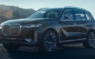 BMW X7 новый немецкий кроссовер