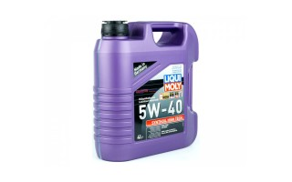 Масло моторное liqui moly synthoil high tech 5w40 4л, характеристики