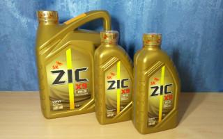 Моторное масло зик 5в30 х9, характеристики