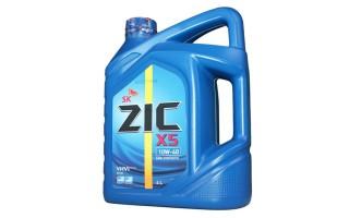 Моторное масло zic x5, характеристики