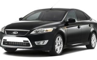 Расход бензина форд мондео, разные модели и кузова