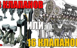 Какой двигатель на ваз лучше 8 или 16 клапанный