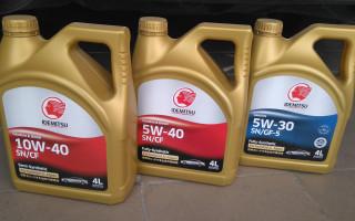 Моторное масло идемитсу 10w 40, отзывы, характеристики