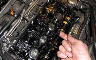 Моторное масло, сгустки, пена, чернеет. Основные причины