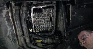 Мехатроник — для замены адаптера его понадобится снять