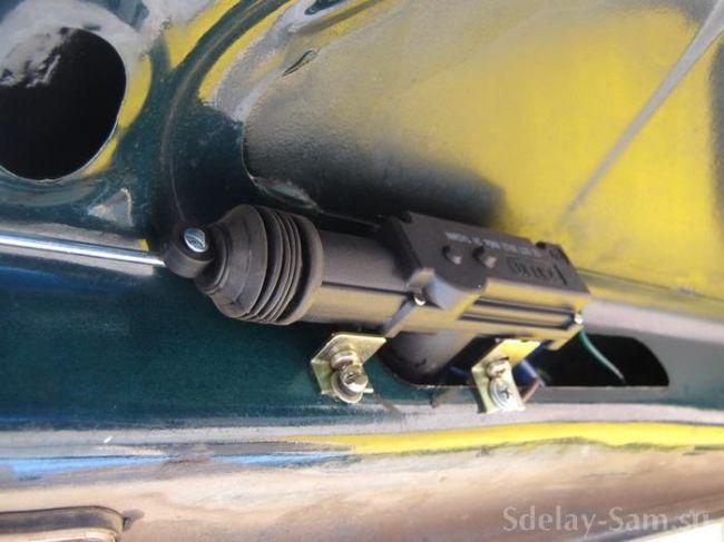 Сломался замок багажника ваз 2107